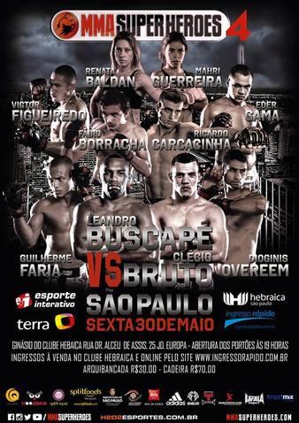 MMA Super Heroes 4