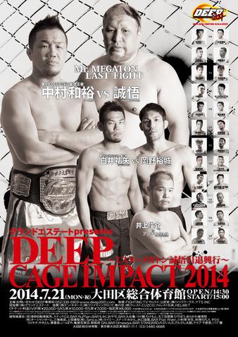 DEEP Cage Impact 2014