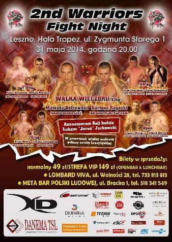 2nd Warriors Fight Night