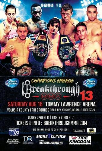 Breakthrough MMA 13