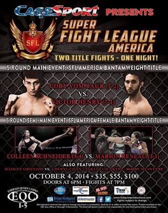 Super Fight League America