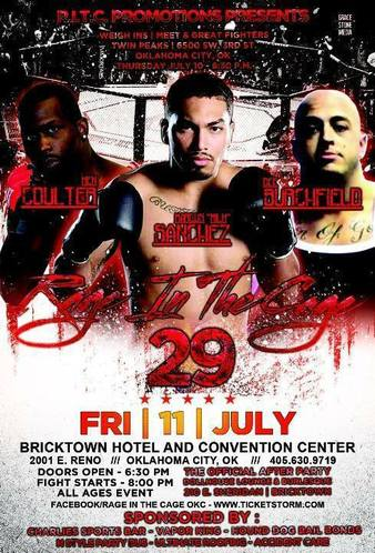 Rage in the Cage OKC 29