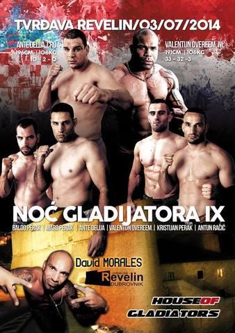 Night Of The Gladiators 9