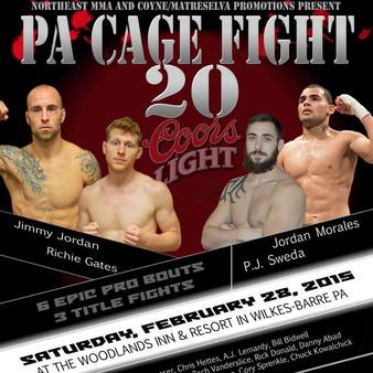 PA Cage Fight 20
