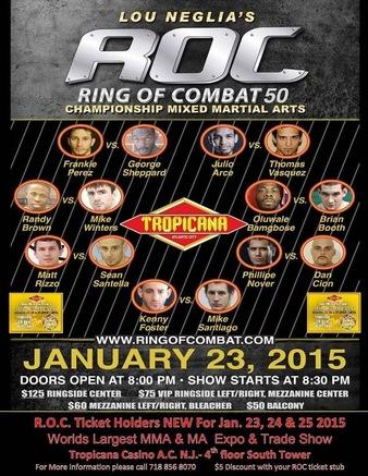 Ring of Combat 50