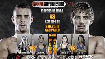 MMA Super Heroes 6