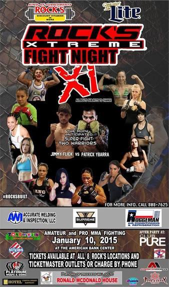 Rocks Xtreme MMA 11