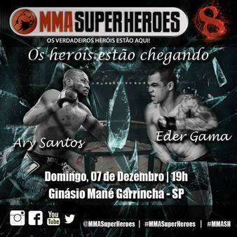MMA Super Heroes 8