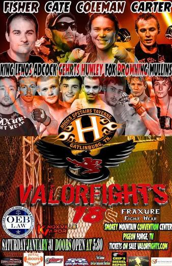 Valor Fights 18