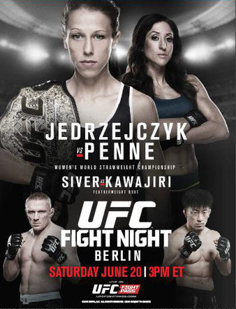 UFC Fight Night 69: Jędrzejczy...