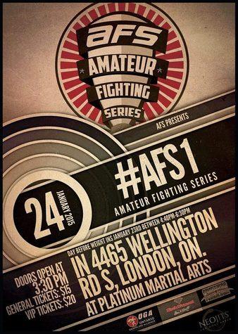 Amateur Fighting Series 1