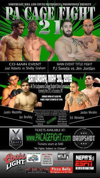 PA Cage Fight 21