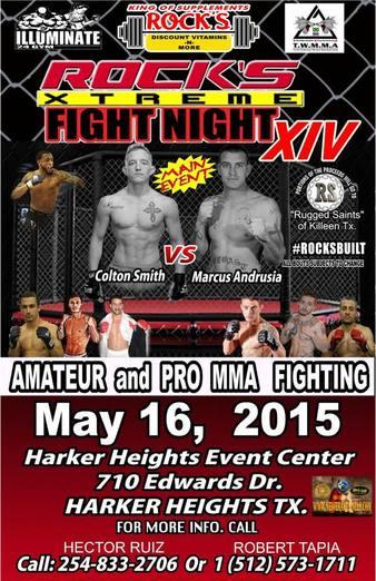 Rocks Xtreme MMA 14