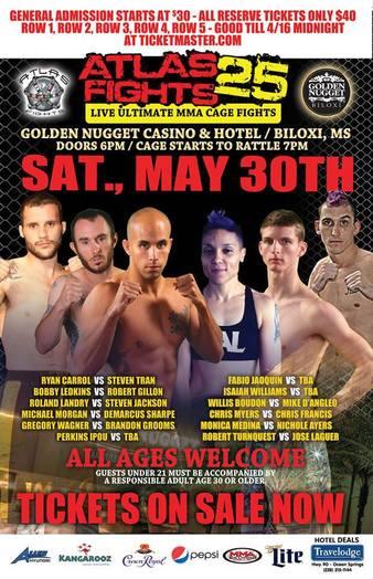 Atlas Fights 25