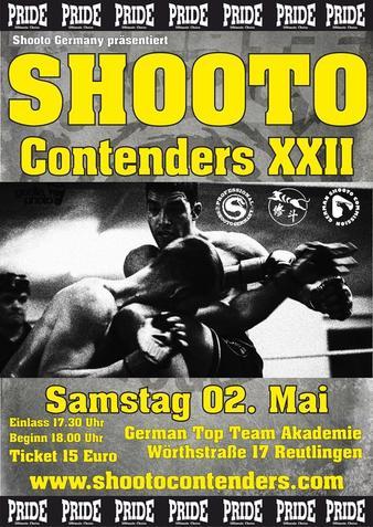Shooto Contenders 22