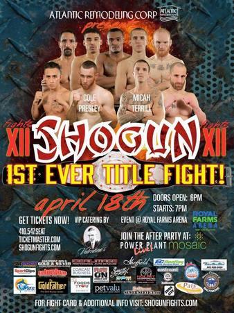 Shogun Fights 12