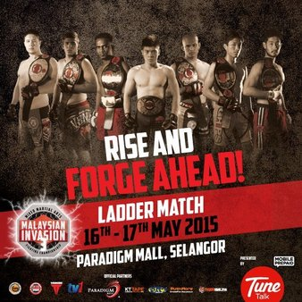 Malaysian Invasion 3: Ladder Match