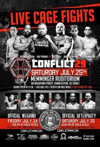 Conflict MMA 29