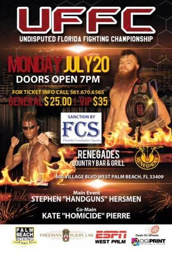 Undisputed Florida Fighting Championship 1