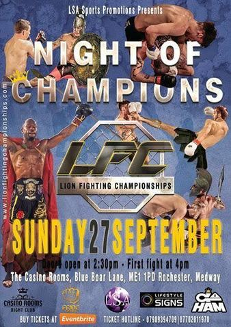 Lion Fighting Championships 5