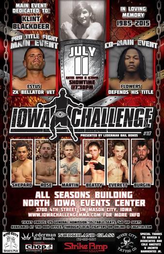 Iowa Challenge 117