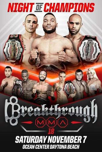 Breakthrough MMA 18
