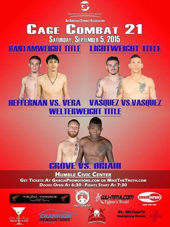 Cage Combat 21