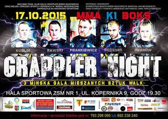 Grappler Night 3