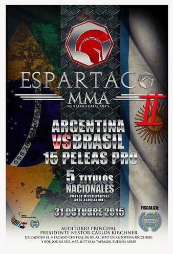 Espartaco MMA 2