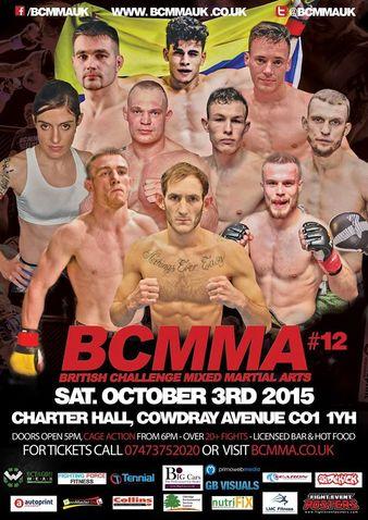 British Challenge MMA 12