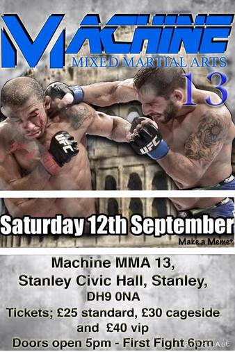Machine MMA 13