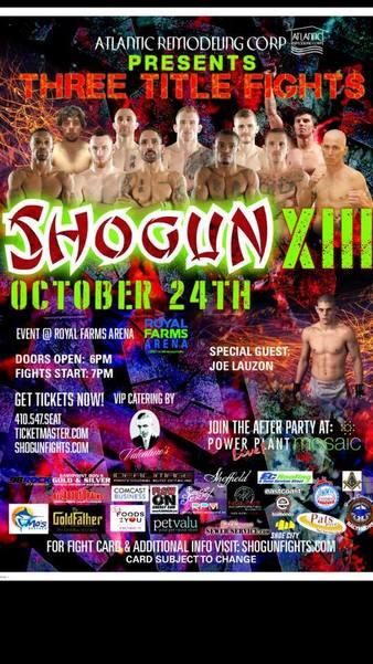 Shogun Fights 13