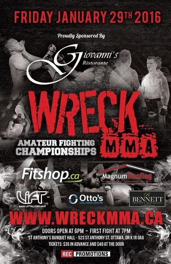 Wreck Amateur Fighting Championships 1