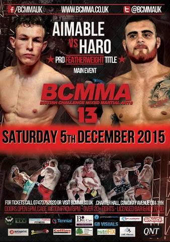 British Challenge MMA 13