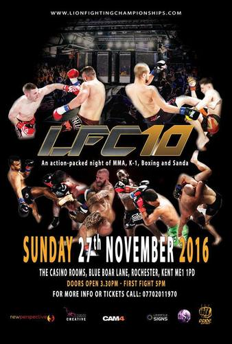 Lion Fighting Championships 10