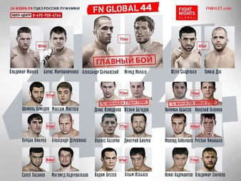 Fight Nights Global 44