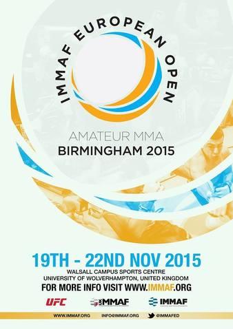 2015 IMMAF European Open Championships