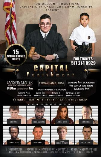Capital City Cage Fight Championships: Capital Punishment