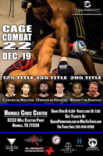 Cage Combat 22