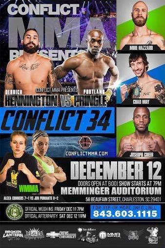 Conflict MMA 34