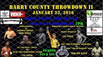 Barry County Throwdown