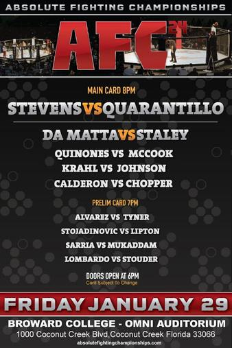 Absolute Fighting Championship 24