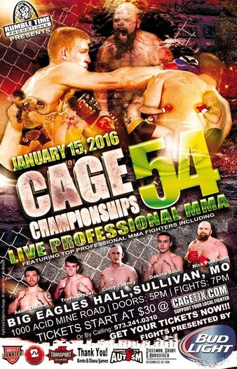 Cage Championships 54