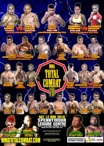 MMA Total Combat 70