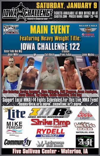 Iowa Challenge 122