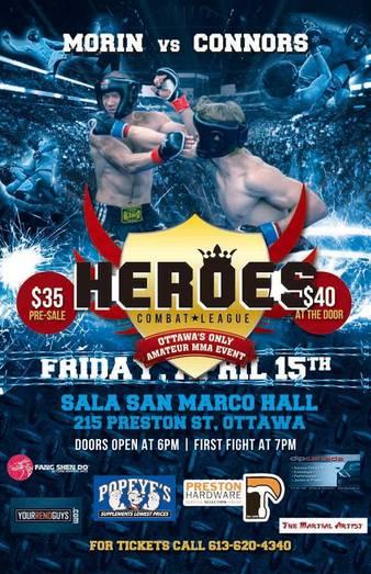Heroes Combat League 7