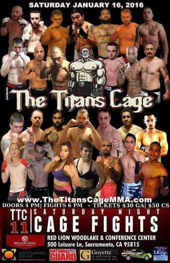 The Titans Cage 11