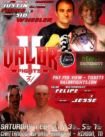 VALOR Fights 31