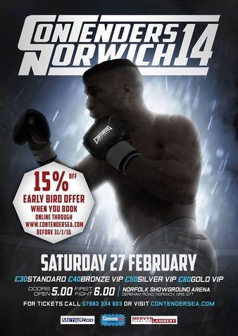 Contenders Norwich 14
