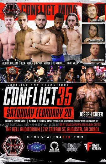 Conflict MMA 35